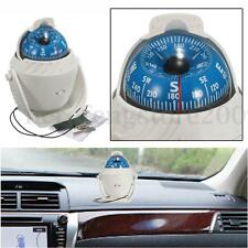 LED Light Sea Boat Marine Compass Electronic Digital Van Car Truck Navigation