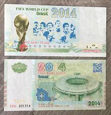 2014 Brasil Fifa World Cup banknote