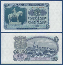TSCHECHOSLOWAKEI CZECHOSLOVAKIA 25 Korun 1953 UNC P.84 b