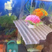 Grid Divider Tray Egg Crate Aquarium Fish Tank Bottom Isolate HOT