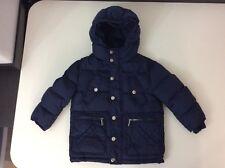 DSQUARED 2 Ds2 Navy Blue duck down cappotto giacca età 4 anni in buonissima condizione buone