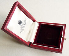 Boite ancien écrin pour un bijou pendentif  ASPREY & Co London jewel box