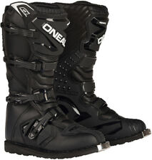 ONeal Rider Motocross Boots Adult Size 10 ATV Dirt Bike Off Road Moto boot Black