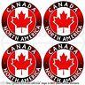 "CANADA Canadian North America, MAPLE Vinyl Bumper, Decals-Stickers 2""(50mm) x4"