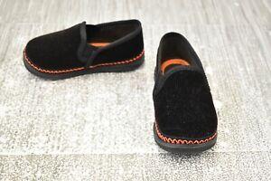 Foamtreads Innsbruck Classic Slippers, Toddler Boy's Size 8M, Black NEW