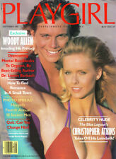 PLAYGIRL September 1982 CHRISTOPHER ATKINS Woody Allen DAVID BATES centerfold