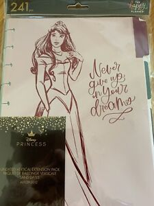 Mambi The Happy Planner Disney Princess Extension Pack