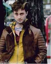 "Daniel Radcliffe Colour 10""x 8"" Signed 'Horns' Photo - UACC RD223"