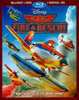 Planes: Fire  Rescue (Blu-ray/DVD, 2014, 2-Disc Set, Includes Digital Copy)