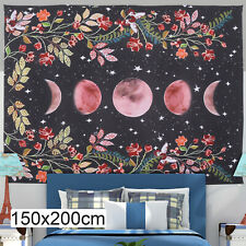 59x78in Tapestry Wall Hanging Starry Sky Carpet Moon Tapestries Decor Bedspread