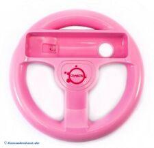Wii - gamepad extension: steering wheel / Racing Wheel #pink [various brands]