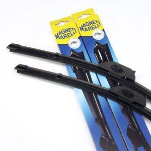2x flach Scheibenwischer Wischblätter 530 mm + 510 mm vorne - Magneti Marelli