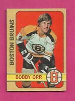 1972-73 OPC # 129 BRUINS BOBBY ORR  VG CARD (INV# D7856)