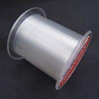 100M/300M/500M Nylon monofilament Super Strong Abrasion fils de pêche