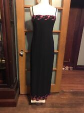 Stunning Evening Dress Mother Of The Bride Prom Dress Black Color Size A