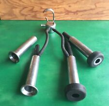 4 Surge Stainless Steel Teat Cups Claw Milking Machine Milker Parts