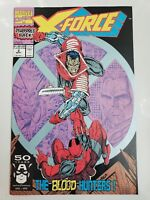 X-FORCE #2 (1991) MARVEL 1ST GARRISON KANE/WEAPON X! 2ND APPEARANCE DEADPOOL! NM