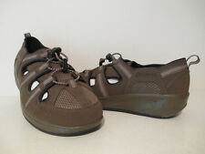 Bass Womens Earth Earthsmart Suede Casual Walking Shoes Brownish Green Size 6