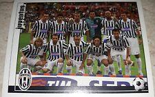 FIGURINA CALCIATORI PANINI 2006/07 JUVENTUS SQUADRA ALBUM 2007