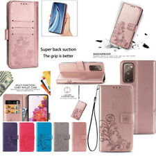 Portable Cell Phone Case Card Holder Leather Wallet For Samsung S20 Fe S20 Uitra
