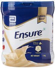 4 x Abbott ENSURE Complete Nutrition Powder Lower Sugar in VANILLA Flavour-1KG