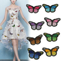 Butterfly Insect Motif Embroidered Patch Applique Customise Clothing Patches/*