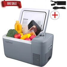 14/21 Quart Portable Car Freezer Fridge Mini Cooler Outdoor Camping Travel Truck