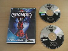 GRANDIA II 2 Pc Cd Rom FO -  RPG Role play  FAST POST