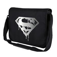 Superman's Death | Comic | Kult | Hero | Schwarz | Umhängetasche | Messenger Bag