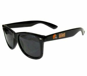 Cleveland Browns Retro Sunglasses UVA 400 Lens NFL Beachfarer Wayfarer Style