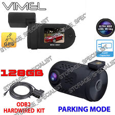 Security Camera for Car Parking Mode GPS  Hardwired Super Capacitor Backup