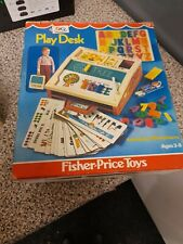 Fisher Price 1970 Play Desk