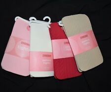 Gymboree TIGHTS Basic Pink Beige & Red Cable Lacy Ivory Lot of 4 NWT 8-10 yrs