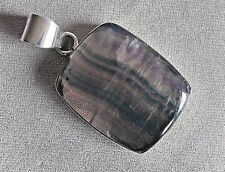 FLUORITE Ciondolo Set in argento Sterling.