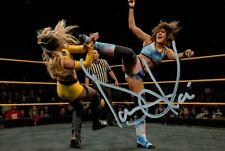 More details for dakota kai signed 6x4 photo wwe wrestling nxt cheree crowley autograph + coa