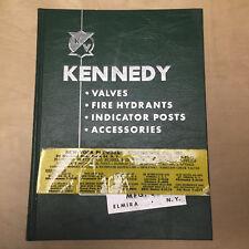 Vtg Kennedy Valve Mfg Co Catalog ~ Valves Fire Hydrants Radiator 1955