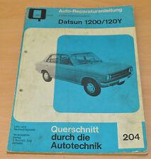 Datsun 1200 120 Y Reparaturanleitung B204 Handbuch Bucheli Auto Motor Technik