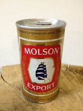 Molson Export Beer Can Ale Canadian Pulltab