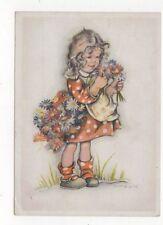 Children Art H Peyk Germany 1947 Postcard 452a