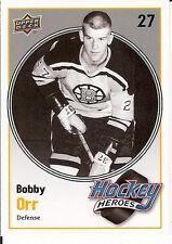 Bobby Orr  10/11 Upper Deck  #HH10  Hockey Heroes  Insert