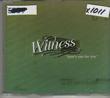 (CM175) Witness, Here's One For You - 2001 DJ CD