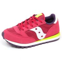 E8418 sneaker bimba girl SAUCONY scarpe dark pink shoe