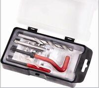 15 Pc Thread Repair Kit M12 X1.5 X16.3MM Auto Car Tool Set Helical Coil N008187H