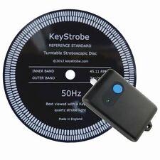 KeyStrobe turntable strobe plus resin Reference Standard disc