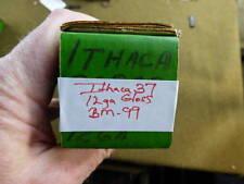 Ithaca 37 12ga Gloss Finish Flat Bottom Press Checkered Walnut Forearm NOS BM-99