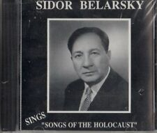 SIDOR BELARSKY-SINGS SONGS OF THE HOLOCAUST CD (BRAND NEW/SEALED) RARE!!!