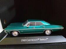 1/43 chevrolet impala 1968 ixo rare  diecast American model car