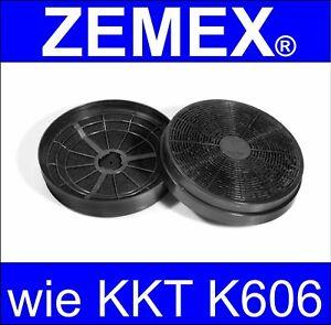 2x Kohlefilter Aktivkohlefilter wie KKT Jan Kolbe K606 CF110 K122