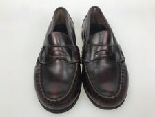 f9f334cfb60 Sperry Penny Loafers Boys 11.5 M Leather upper Burgundy kids rubber soles
