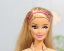 Barbie Fashionistas Style Nude Long Blond Hair Blue Eyes Doll New